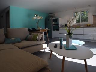 Villa garden plan apartment near great beaches! - Favone vacation rentals
