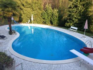 Appartamento in villa Anna con Parco e Piscina - Porto Valtravaglia vacation rentals