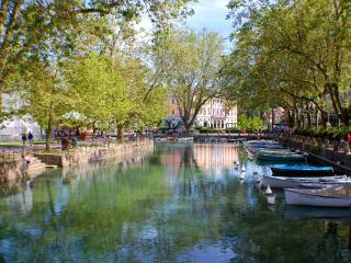 ANNECY - Lake view, Apt in village center. 6 pers. - Veyrier-Du-Lac vacation rentals