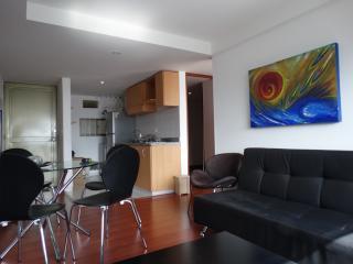 Beautiful 2 room apt. with a view near Usaquen. - Bogota vacation rentals