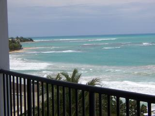 Ocean-Front Condo with Private Beach Access - Luquillo vacation rentals