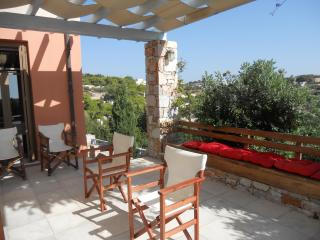 Idyllic island house in Chroussa, Syros, with garden, spacious terrace and sea views – sleeps 4 - East Attica Region vacation rentals