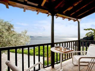 Luxury villa with private beach and superb panoramic views of the Argolic Gulf, sleeps 6 - Xiropigado vacation rentals