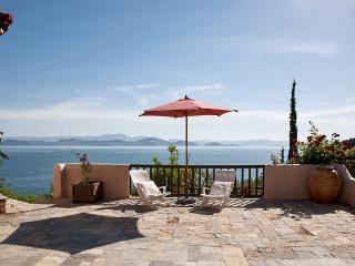 Stunning villa just outside a charming village, w/ panoramic sea views, 50m from private beach - Nicosia District vacation rentals