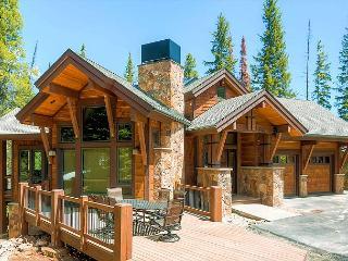New luxury 5 bedroom 5 1/2 bath lodge in exclusive Northwoods area on Peak 8 - Breckenridge vacation rentals