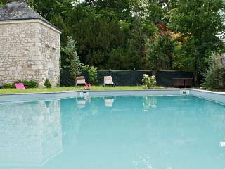Les Longchamps - historic stone mansion in the Pays de la Loire with private pool – sleeps 22 - Neuille vacation rentals