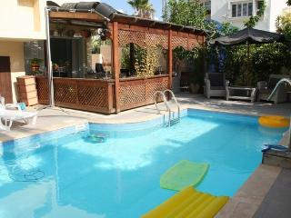 Room #1  with a balcony and pool in villa , Ashdod - Ashdod vacation rentals