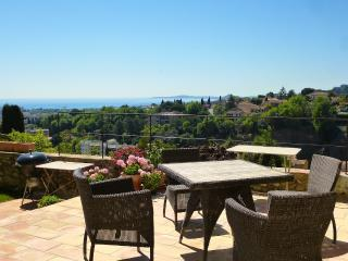 Lovely, and Pet-Friendly, Stone Home With Seaview, - Cagnes-sur-Mer vacation rentals