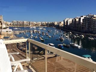 Seafront flat, Spinola Bay - Saint Julian's vacation rentals