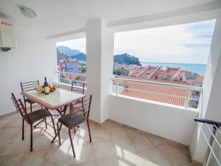 Apartments Ivan - Comfort Two Bedroom Apartment with Balcony and Sea View - Petrovac vacation rentals