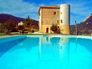 Chateau De Meouille Pet-Friendly Vacation Rental with a Pool - Saint Andre Les Alpes vacation rentals