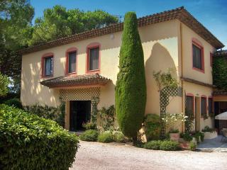 Villa Emeraude, Pet-Friendly Provence Home with a Pool and Fireplace - Saint-Jean-de-Cannes vacation rentals