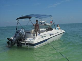 salty livin! nice house on water with 2 boats! - Pine Island vacation rentals