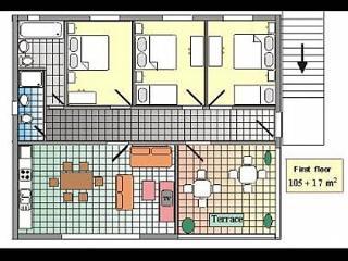 8134  A1(8+1) - Podgora - Podgora vacation rentals