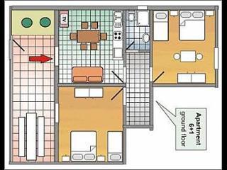8134  A2(6+1) - Podgora - Podgora vacation rentals