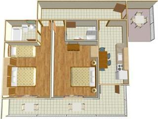 02513BREL  A1(4+1) - Brela - Brela vacation rentals