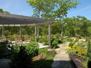 MCAUM - Thoughtfull Architectual Design set Amidst an Estate Property, Bordered by Stonewalls,  Beautiful Vistas from all Areas of the House,  Elegant yet Casual interior,  Sensational Chef's Kitchen - West Tisbury vacation rentals