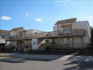 151 95th Street Garden House Condo arge deck and a wonderful oceanview - Stone Harbor vacation rentals
