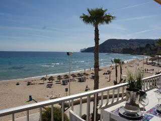 Luxury Beach Apartment first line Arenal beach - Calpe vacation rentals