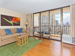One bedroom vacation rental with partial ocean view –short walk to the beach! - Waikiki vacation rentals