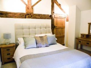 CASTELL COURTYARD, detached barn conversion, woodburner, hot tub, walks from door, family sized accommodation, near Llanrhaeadr  - Welshpool vacation rentals