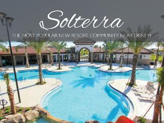 SOLTERRA RESORT IMPRESSIVE 5 BEDROOM/4,5 BATH SOUTH  FACING POOL- LIVING FLORIDA STYLE -10 minutes f - Indian Lake Estates vacation rentals