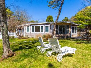 MERCM - CENTRAL KATAMA LOCATION, BIKE TO BEACH OR TOWN, LARGE, PRIVATE BACKYARD - Edgartown vacation rentals
