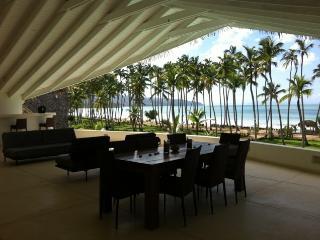 Luxury 13-bedroom beachfront villa - Las Terrenas vacation rentals