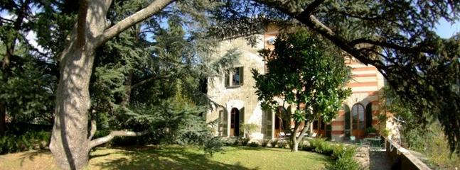 Giardino e facciata - Beautiful 18th Century Vacation Villa in Tuscany - Pistoia - rentals