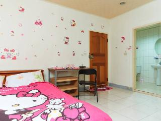 Hello Kitty Room @ XiMenDing 西門町 3min to MRT - Taiwan vacation rentals