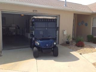 Beautiful 2 bedroom villa with gas golf cart - The Villages vacation rentals