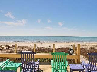 Beachfront, Hot Tub and Hammock, Garage, Game Room, WIFI-08-08 $3940/wk - Port Saint Joe vacation rentals
