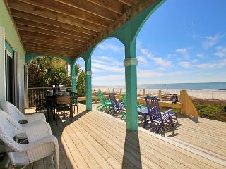 Beachfront, Hot Tub and Hammock, Garage, Game Room, WIFI-9/26 $2550/wk - Port Saint Joe vacation rentals