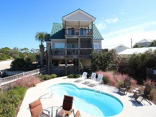 Fabulous beach view, Private Heated Pool, fireplace,10/17 $1680/wk - Cape San Blas vacation rentals