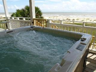 Upscale, Spacious Beachfront, Elevator, Hot Tub 8/15 $2630/wk - Port Saint Joe vacation rentals