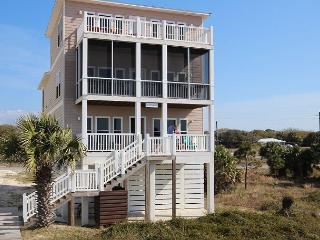 Beachfront, Spacious, 3 Kings, Screen Porches, Pet Friendly 4/11-5/2 $1580/wk - Cape San Blas vacation rentals