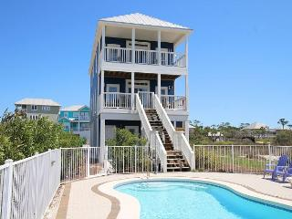 Beachfront, Heated Private Pool , Elev, 4 King MB, North Cape 10/31 $2290/wk - Cape San Blas vacation rentals