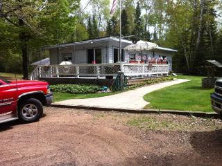 2 cabins in northern wi with lake access - Argonne vacation rentals