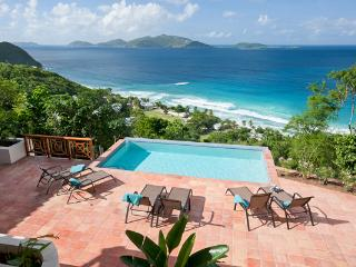 Situated on a private hillside above Long Bay Beach. MAT ALF - Belmont vacation rentals