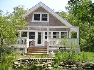 CHARMING COTTAGE OVERLOOKING SMALL PLEASANT FISH POND - Vineyard Haven vacation rentals