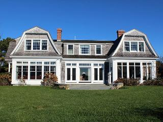 COOL SUMMER DRINKS IN HAND WHILE LOOKING OVER INNER & OUTER HARBORS - Chappaquiddick vacation rentals