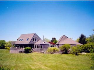TRANQUIL HOME OVERLOOKNG THE OCEAN. ADD A BEACH AND WHAT COULD BE BETTER - Chilmark vacation rentals