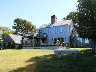 CLASSIC VINEYARD WATERFRONT HOME AT GREAT FISHING SPOT - West Tisbury vacation rentals