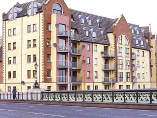 Riverside apartment with balcony - Antrim vacation rentals