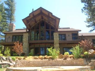 Breath taking views of Cascade Lake, feet to the warm sandy beach. - Donnelly vacation rentals