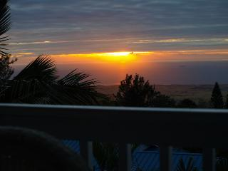Hawaiian Style Home, Year Round Sunset View, Pool - Kona Coast vacation rentals