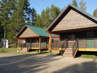 Moose Creek at Lazy Bear Lodging near Glacier Park - Columbia Falls vacation rentals
