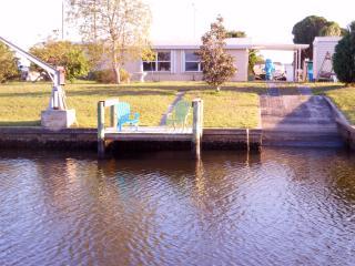 Waterfront, Fish from dock, 2 man Kayak Incl. - Port Charlotte vacation rentals