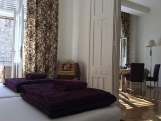 2 ENSUIT ROOM+LIVINGROOM & BALCONY AT OPERA,104 m2 - Budapest vacation rentals