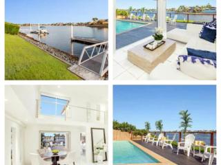 Bella Volante Waterfront 6 Bedroom House + Cinema - Mermaid Waters vacation rentals